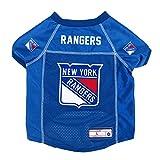 NHL New York Rangers Pet Jersey, XS