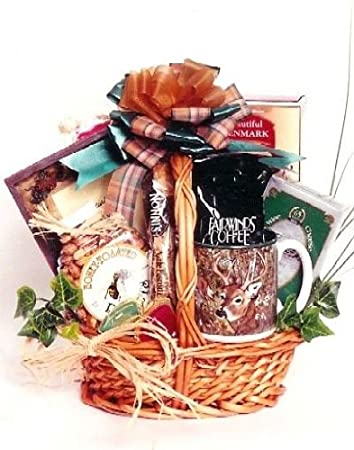 Amazon Com Hunting Gift Basket For Hunters Edible And Drinkable