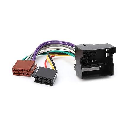 amazon com numkuda car stereo radio iso lead cable wiring connector rh amazon com XLR Connector Wire Connector Kit