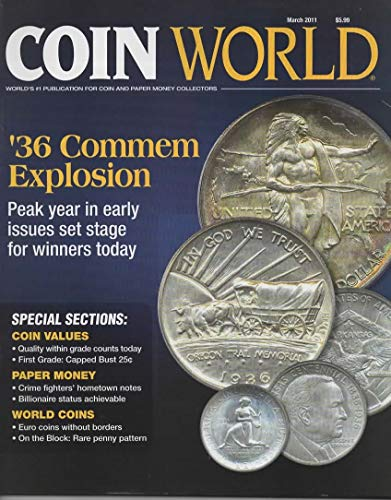Coin World Magazine, March 2011 (Vol 52, Issue 2656)