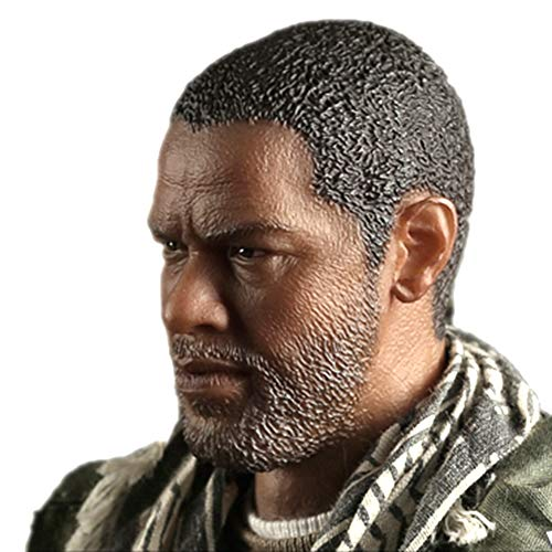 HiPlay 1/6 Scale Male Figure Head Sculpt Series, Handsome Men Tough Guy , Doll Head for 12