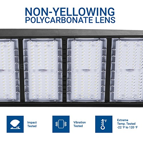 Hyperikon LED Shoebox Pole Light, 200W (600-800W HID/HPS