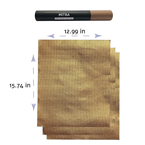 Buy hirundo non-stick bbq baking mats , 2 packs