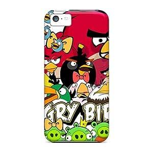Hot Design Premium KHXHSDt1841IBTwq Tpu Case Cover Iphone 5c Protection Case(angry Birds All Bird)