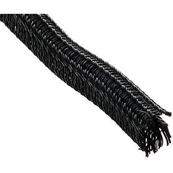 amazon com keep it clean 14329 wire loom 1 8 black ultra split rh amazon com Braided Wire Loom Spark Plug Wire Looms
