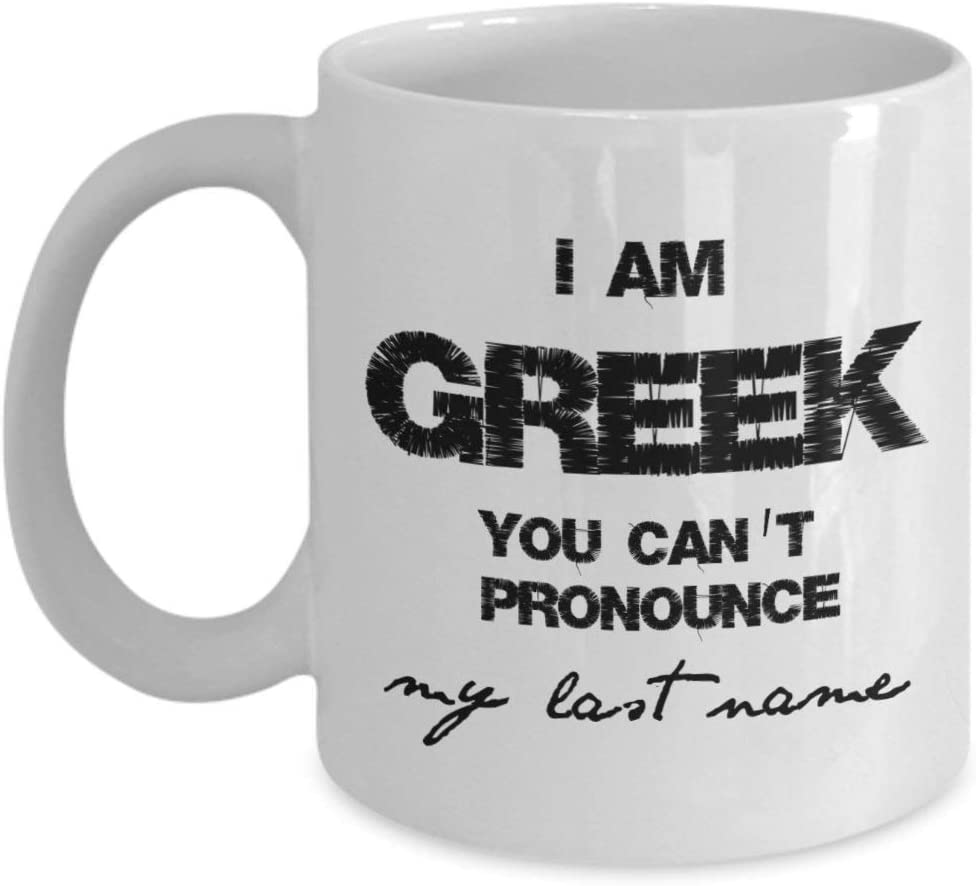N\A Taza de raíces griegas, Regalos de raíces griegas, Regalos de Herencia Griega, Tazas griegas Divertidas, Regalo de Grecia, Esposo Griego, Profesor de Griego