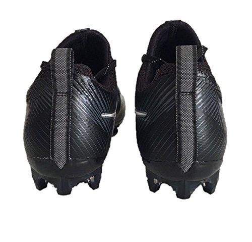 Nike Mens Vapore Intoccabile 2 Tacchetta Da Calcio Nero / Bianco / Argento Metallizzato