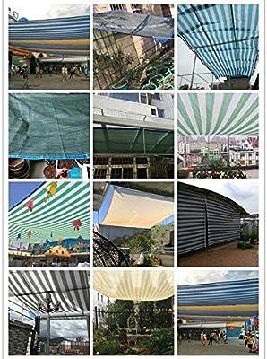 DEWUFAFA Tela de Sombra6 Pines, Suculentas Balcón Protector Solar ...