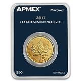 2017 CA Canada 1 oz Gold Maple Leaf (APMEX MintDirect Single) 1 OZ Brilliant Uncirculated