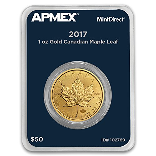 2017 CA Canada 1 oz Gold Maple Leaf (APMEX MintDirect Single) 1 OZ Brilliant Uncirculated