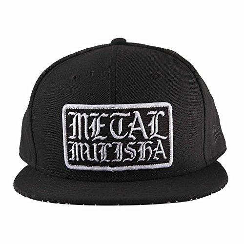 Metal Mulisha Men's New Era 9FIFTY Snapback Logo Baseball Cap Hat, Webs Black, ()