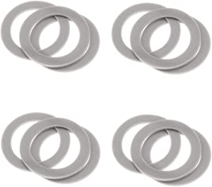 12 Pieces Blender Gasket Rubber Seal Ring O-ring Replacement Parts, Compatible with Black and Decker blender