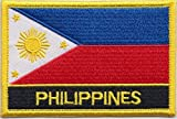 Philippines Country Flag Embroidered Blazer Badge Patch