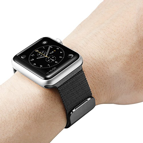 spigen a300 apple watch band milanese loop for apple watch series 3 series 2 series 1 42mm. Black Bedroom Furniture Sets. Home Design Ideas