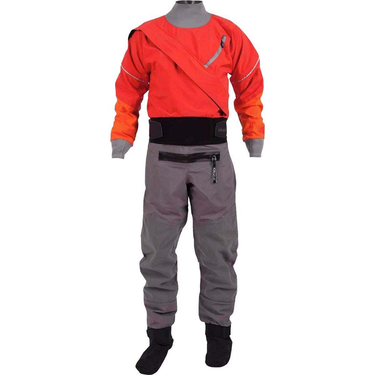 Kokatat Men's Gore-Tex Meridian Drysuit-Red-XL by Kokatat