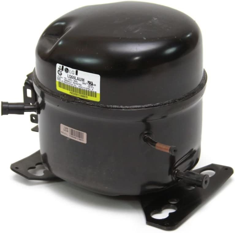 LG AGM74550802 Refrigerator Compressor Genuine Original Equipment Manufacturer (OEM) Part