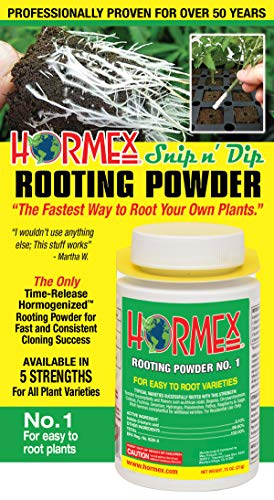 Hormex Rooting Powder #1 Easy to Root Plants | IBA Rooting Powder Compound Strong & Healthy Roots -