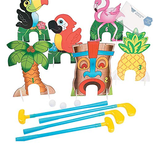 Bargain World Luau Golf Game (With Sticky Notes)