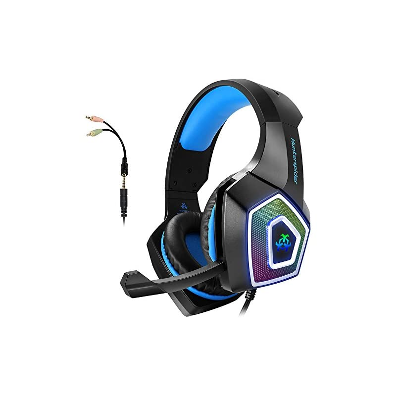 Gaming Headset with Mic for Xbox One PS4