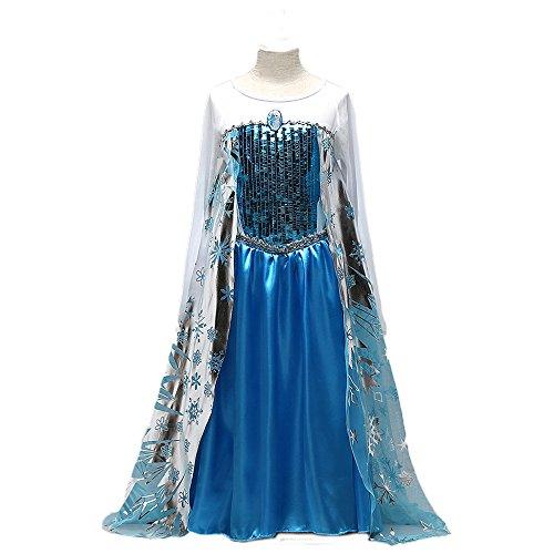 with Frozen's Elsa Costumes design