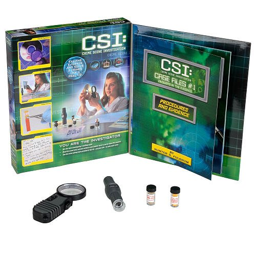 Edu Science CSI: Crime Solving Kit Case File #1 by Toys R Us