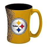 NFL Pittsburgh Steelers Mocha Mug, 14-ounce, Yellow