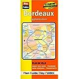 Plan de ville : Bordeaux (avec un index)