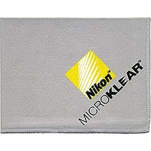Nikon MicroKlear Microfiber Cleaning Cloth for D5, D810, D750, D500, D7200, D7100 D5500, D3300, D3200 Digital SLR Cameras