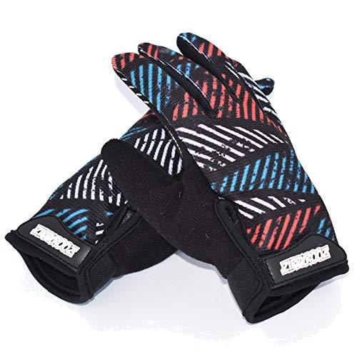 ZippyRooz Toddler Little Kids Full Finger Gloves (Geometric, Little Kids Large (5-6))