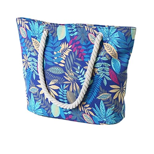 Unyu Summer Totes - Blue Cloth Bag Woman