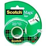 """3M Magic Tape with Dispenser, 3/4"""" x 300"""""""