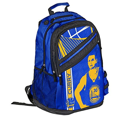 NBA Golden State Warriors Stephen Curry Unisex Curry S. #30 2014 Elite Backpack, One Size by Forever