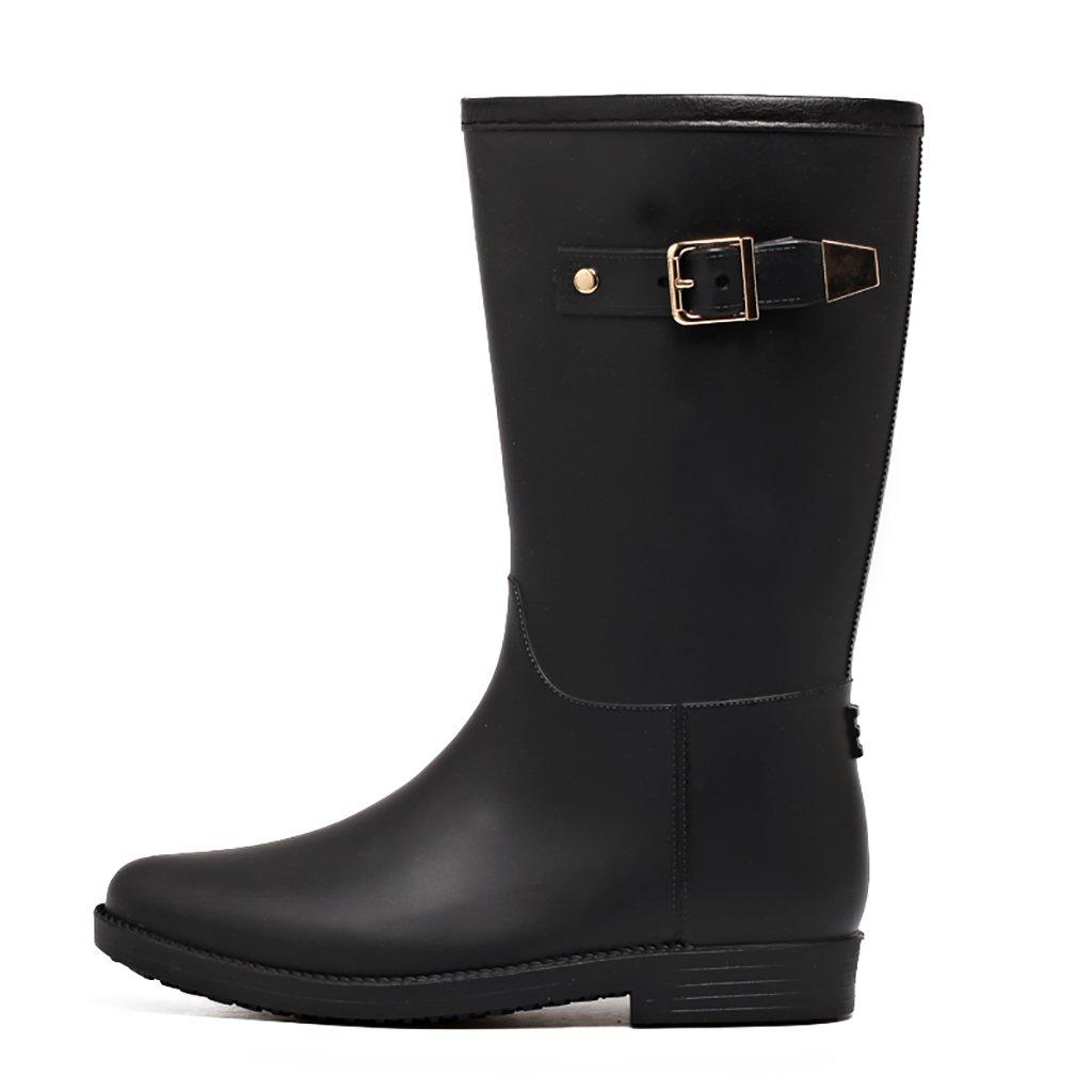 Wellington Lady Rain Boots Botas de Lluvia de Goma QYQyx