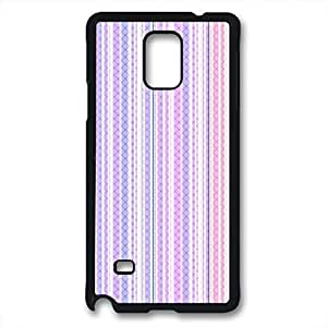 iCustomonline Colorful Striped Pattern Case for Samsung Galaxy Note 4