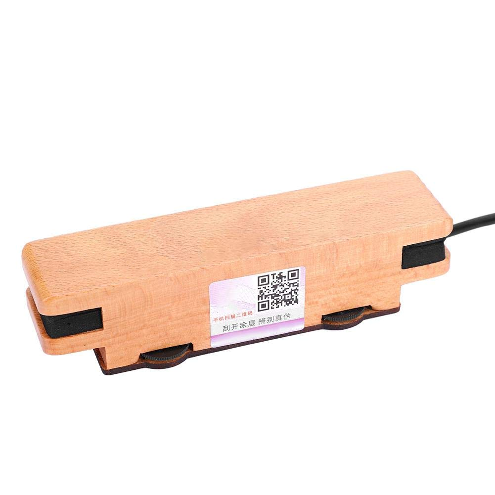 RiToEasysports Pastilla para guitarra ac/ústica madera de arce, con hebilla