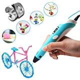 i-CHONY 3D Drawing Print Pen with Lcd Display Gifts for Making Children Doodle Arts & Crafts - Unleash Creativity and Imagination with Free 30 Meters Pla Filament Gift for Dream Start