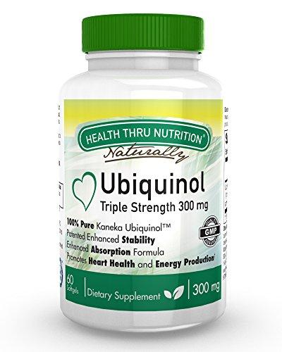 Ubiquinol Softgels Enhanced Absorption Coenzyme