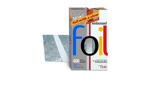 Producto Pre cortados con grabado Club 400 hilos (5 x 8 plata # ef400-sl: Amazon.es: Salud y cuidado personal