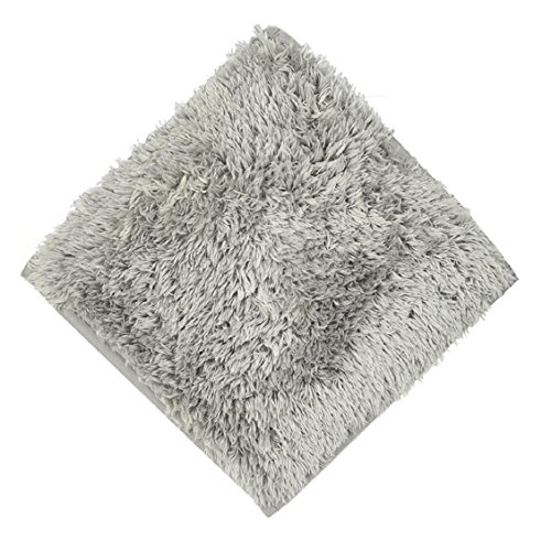 Naladoo Rugs Square Bathroom Rug and Mats Sets Area Rugs for Living Room Kitchen Rugs Set,(30cm x 30cm) (Gray)