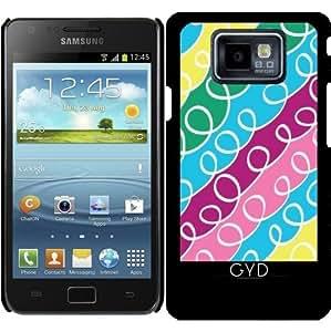 Funda para Samsung Galaxy S2 (GT-I9100) - Bucles by Bense Garza