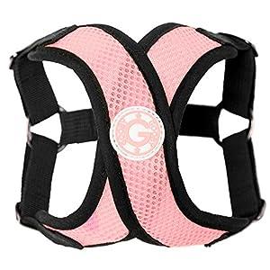Gooby Choke Free Step-in Comfort X Dog Harness, Medium, Pink