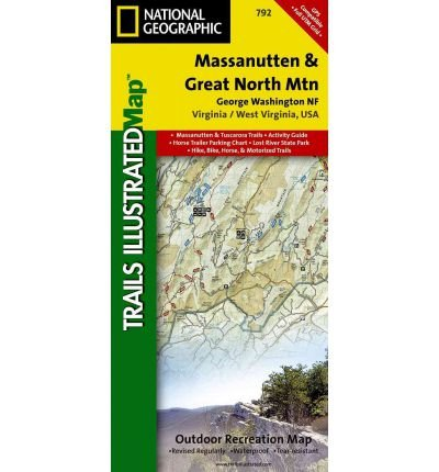 "Read Online Massanutten/Great Northern Mountains G.W. & Jefferson N.F.S: Trails Illustrated Other Rec. Areas (National Geographic Maps: Trails Illustrated) (""Sheet map, folded"") - Common pdf"