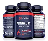 Cheap #1 Adrenal Support Supplements for Adrenal Fatigue – Best Cortisol Manager, Blocker Capsules – Pills for Stress Care – Adaptogenic Herbs for Brain Fog, Focus, Stress Relief & Natural Hormone Balance