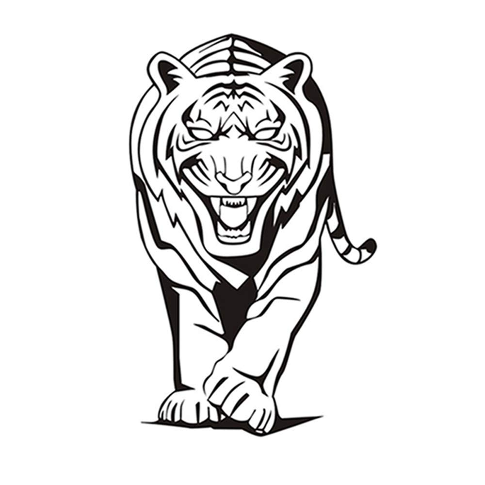 Zoológico Animal Africano Tigre Pegatinas de Pared Para Niños ...