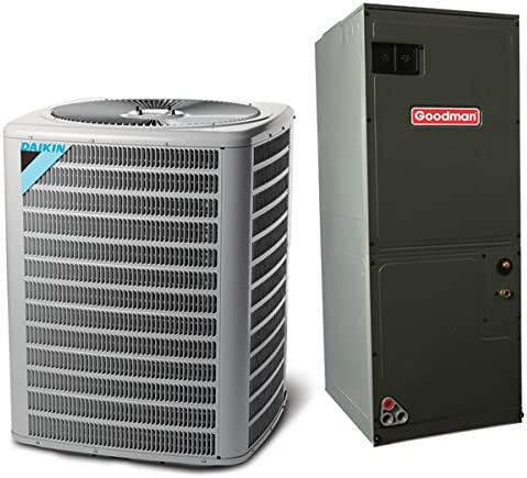 Amazon Com Daikin 4 Ton 13 Seer Multi Speed Commercial Central Air Conditioner Split System Multiposition Home Kitchen