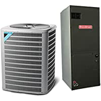3 Ton 13 SEER Multi Speed Daikin Commercial Central Air Conditioner Split System - Multiposition