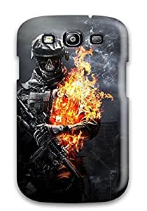 Protective Tpu Case With Fashion Design For Galaxy S3 (battlefield 3 Zombie Mode)