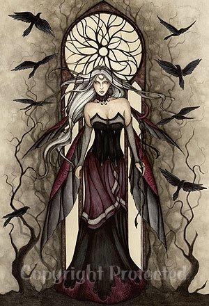 Dark Queen Jessica Galbreth Open Edition 8.5
