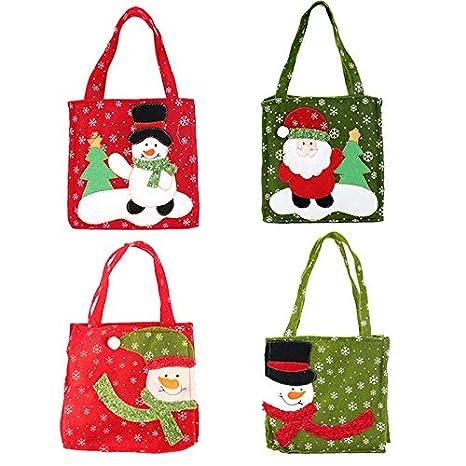 Amazon.com: Alapaste - Bolsas de regalo de Navidad, diseño ...