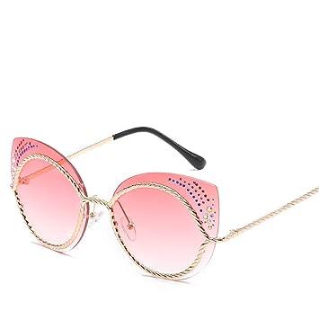 DURIAN MANGO Gafas de Sol de Moda para Mujer,Pink: Amazon.es ...